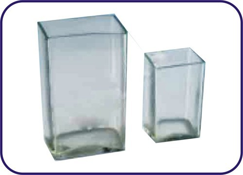 SPECIMEN JARS RECTANGULAR WITH OUT LID