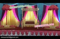 Pakistan Wedding Decor Swing