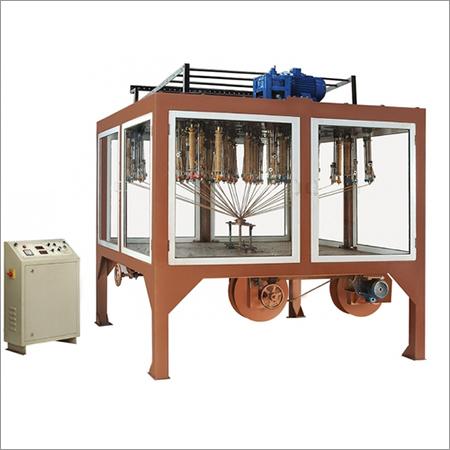 4Track Inverted Gland Packing Braiding Machine,