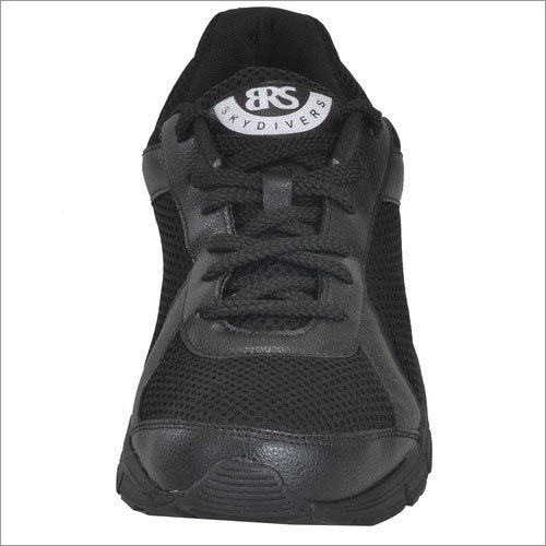 SKydiveRS Men's Black Jogging Shoes