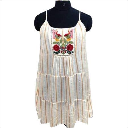 Ladies Sleevless One Piece Dress