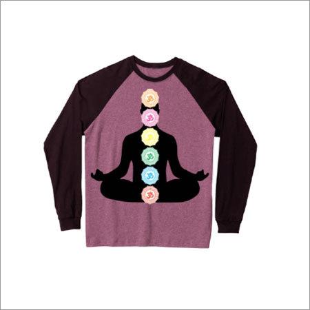 Mens Round Neck Fancy T-Shirt