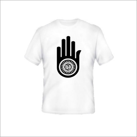 Mens Round Neck Print T-Shirt