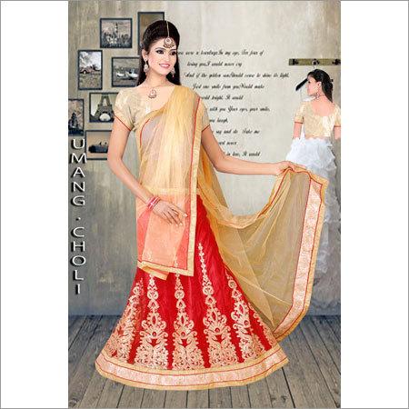 Ladies Cotton Lehenga Choli