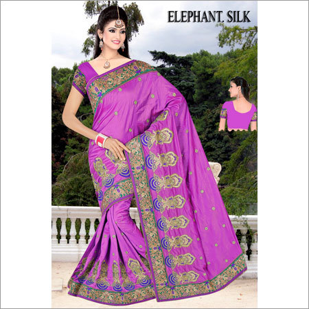 Ladies Bridal Party Wear Saree