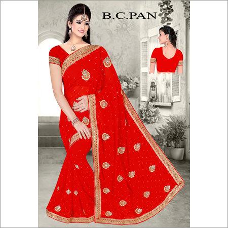 Ladies Designer Print Saree