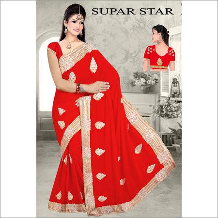 Ladies Fancy Net Saree