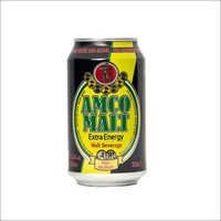 Amco Non-Alcoholic Dark Malt Beverage Canned