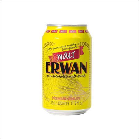 Erwan Non Alcoholic Dark Malt Beverage Canned