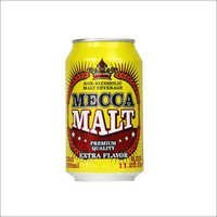 Mecca Non Alcoholic Dark Malt Beverage Canned