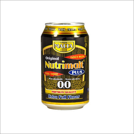 Nutrimalt Non Alcoholic Dark Malt Beverage Canned