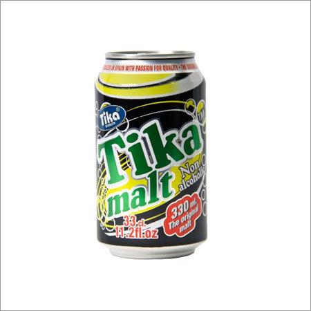 Tika Non Alcoholic Dark Malt Beverage Canned