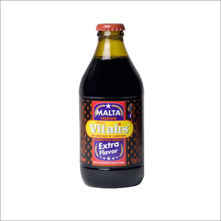 Vitalis Non Alcoholic Dark Malt Beverage Bottled