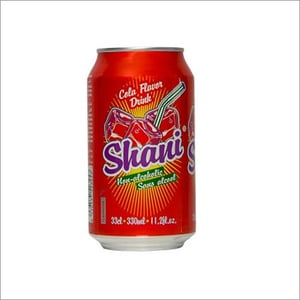 Shani Cola Flavor Drink Non Alcoholic Canned