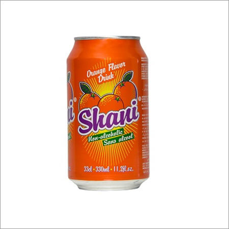 Shani Orange Flavor Drink Non Alcoholic Canned