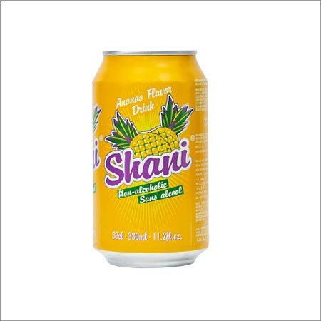 Shani Pineapple Flavor Drink Non Alcoholic Canned