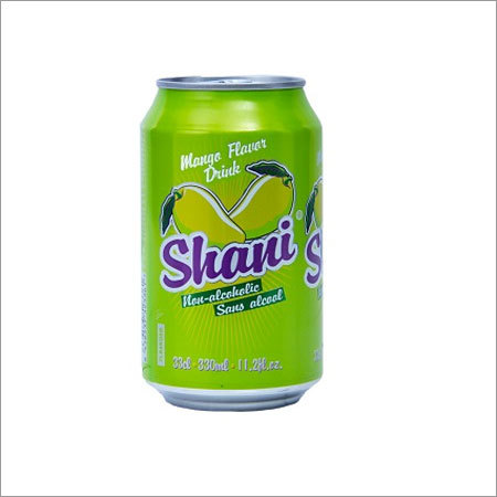 Shani Mango Flavor Drink Non Alcoholic Canned