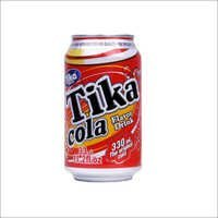 Tika Carbonated Cola Flavor Drink Canned