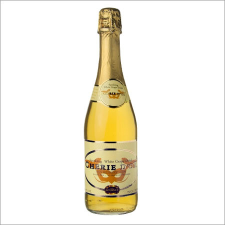 NonAlcoholic White Grape Sparkling Fruit Juice Drink