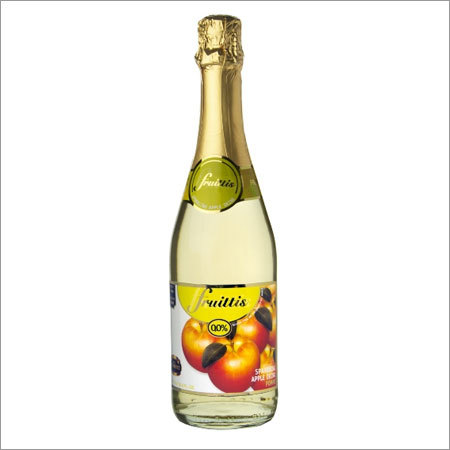 Non Alcoholic Apple Sparkling Fruit Drink