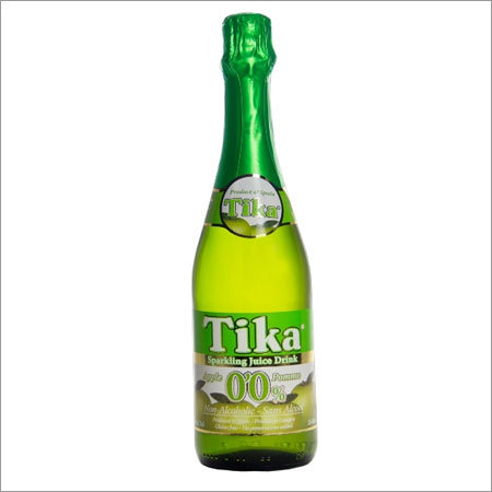 Tika Apple Sparkling Fruit Juice Drink Non-Alcoholic
