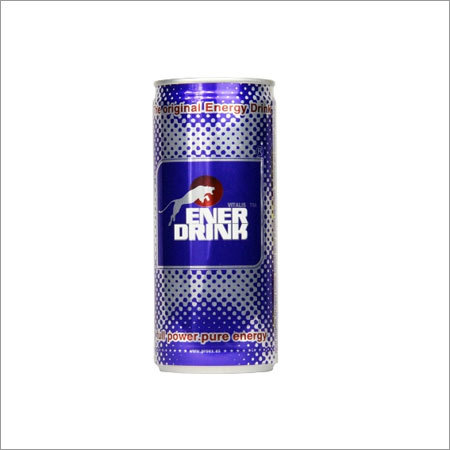 Energy drink canned