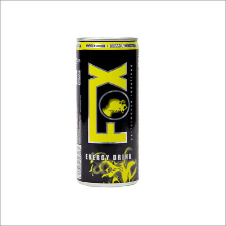 Bebida Energetica Fox Energy Drink Enlatada