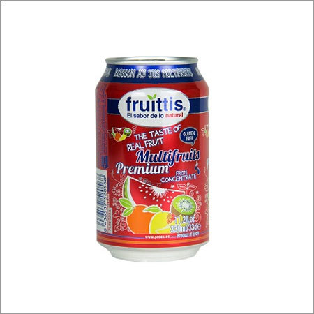 Multifruits Fruit Juice Drink Fruittis Canned