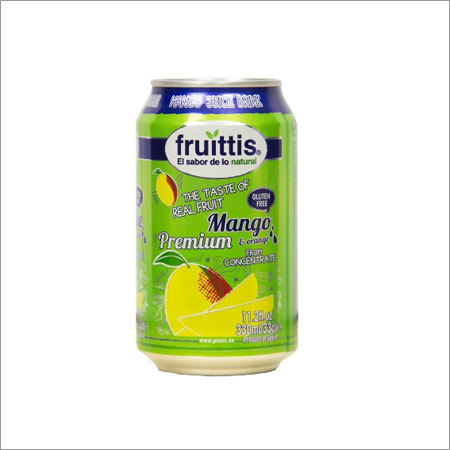 Mango Fruit Juice Drink Fruittis Canned