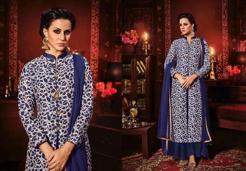 Thapa Silk Plazzo Suit Online