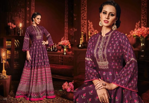 Full Flair Gown Style Suit Online