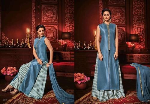 Printed Plazzo Style Salwar Kameez Online
