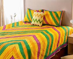Machine & Handquilted Bedsheet