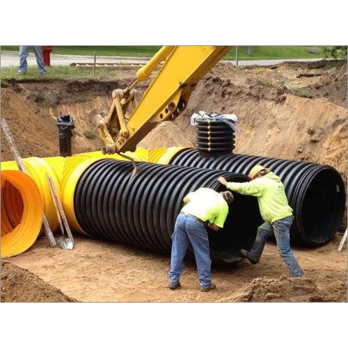Underground DWC Pipe 100 MM TO 500 MM