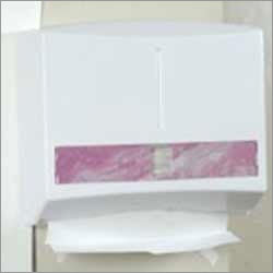 PAPER DISPENSER SMALL ABS (Cap.- 200 C-Fold Napkin
