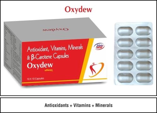 Antioxidant+Vitamins+Minerals+B-Carotene Capsules