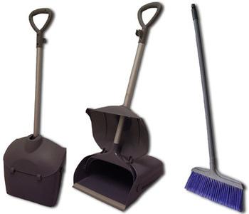 Handled Lobby Dustpan and Brush