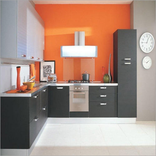Modular L Shape Kitchen