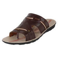 Sporter Men/Boys Brown-840 PU Slipper