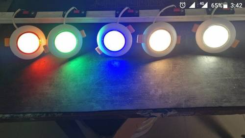 Pollux Led Down Light 3w  (WH)(WW)(RED)(GREEN)(BLUE)