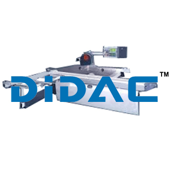 Panel Saw With Automatic Parallel Fence
