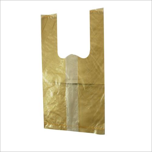 Yellow Plastic Poly Bag