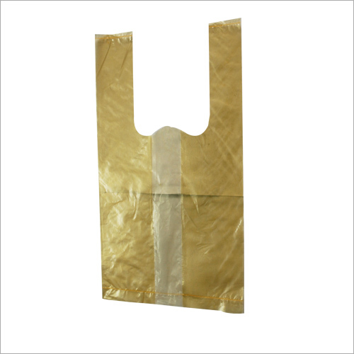 Yellow Plastic Poly Bag