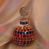 Glass Mosaic Whisky Decanter