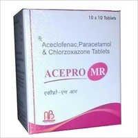 Aceclofenac Paracetamol Chlorzoxazone Tablest