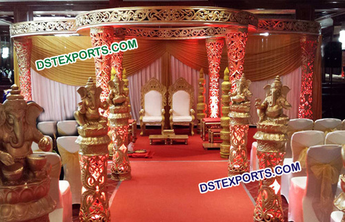 Stylish Wedding Mandap