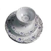 Melamine Plate & Bowl Set