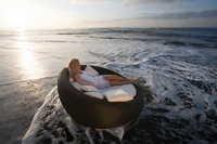 Wooden Round Sofa