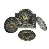 NOBLE SILVER  TEA COASTERS SETS