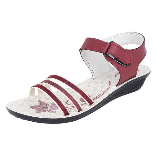 Sporter Ladies/Woman Pink-817 PU Sandals